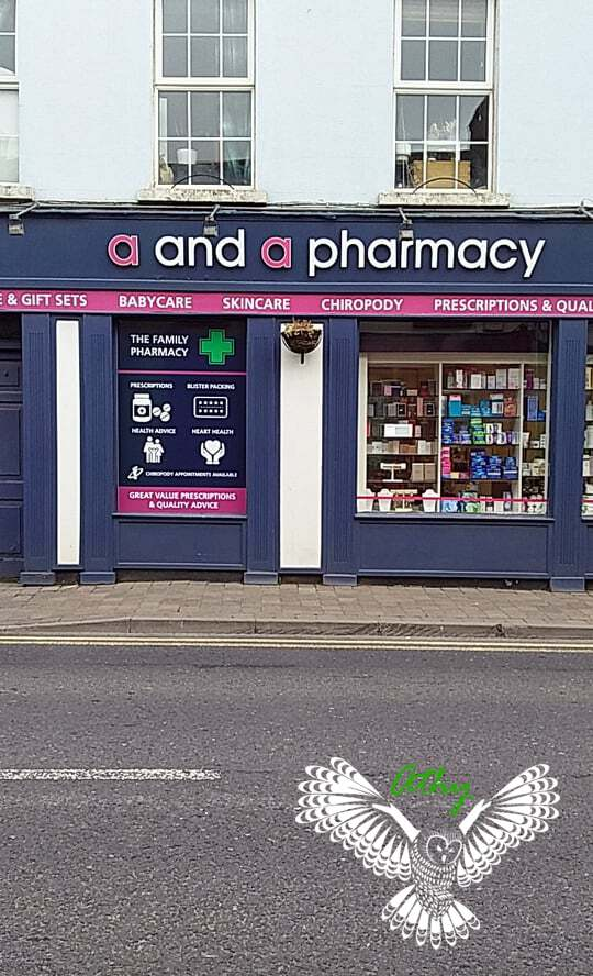 Athy Ireland a and a pharmacy